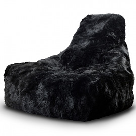 b-bag mighty-b indoor sheepskin zwart