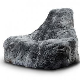 b-bag mighty-b indoor sheepskin grijs