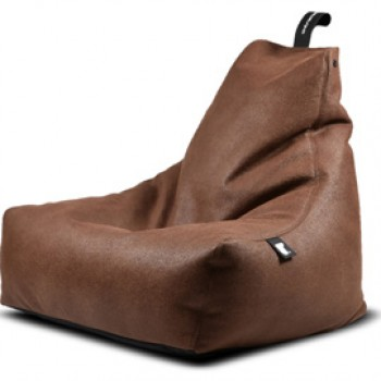 b-bag mighty-b indoor lederlook chestnut