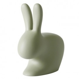 Qeeboo Rabbit Chair Green Large
