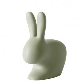 Qeeboo Rabbit Chair Green Small